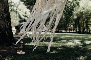 Cool Pampas Grass Wedding With Deep Berry Tones | Cedarwood Weddings 2