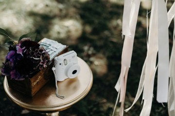 Cool Pampas Grass Wedding With Deep Berry Tones | Cedarwood Weddings 3