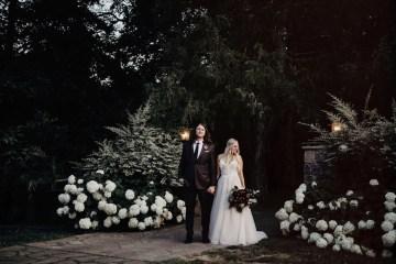 Cool Pampas Grass Wedding With Deep Berry Tones | Cedarwood Weddings 30