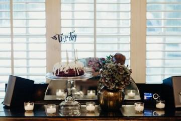 Cool Pampas Grass Wedding With Deep Berry Tones | Cedarwood Weddings 4