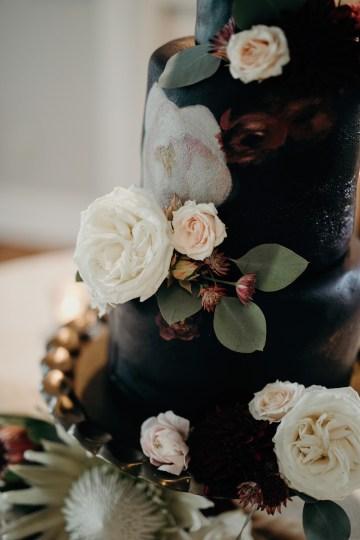 Cool Pampas Grass Wedding With Deep Berry Tones | Cedarwood Weddings 50