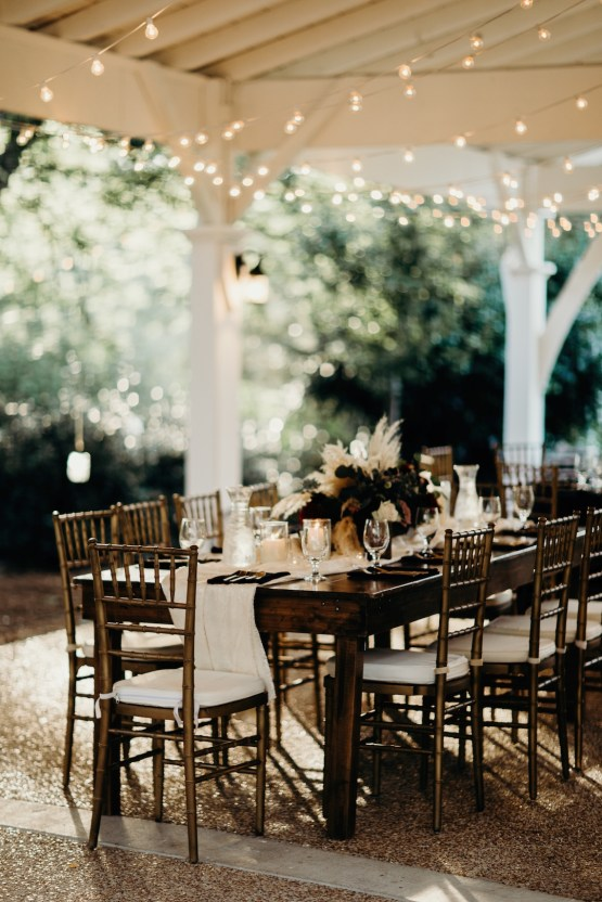 Cool Pampas Grass Wedding With Deep Berry Tones | Cedarwood Weddings 65