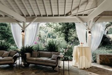 Cool Pampas Grass Wedding With Deep Berry Tones | Cedarwood Weddings 8