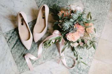 Dreamy Pink Wedding In France | Marion Heurteboust 1