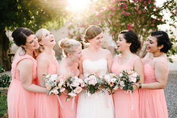 Dreamy Pink Wedding In France | Marion Heurteboust 7