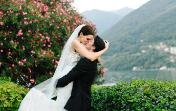 Glamorous Lakeside Italian Destination Wedding