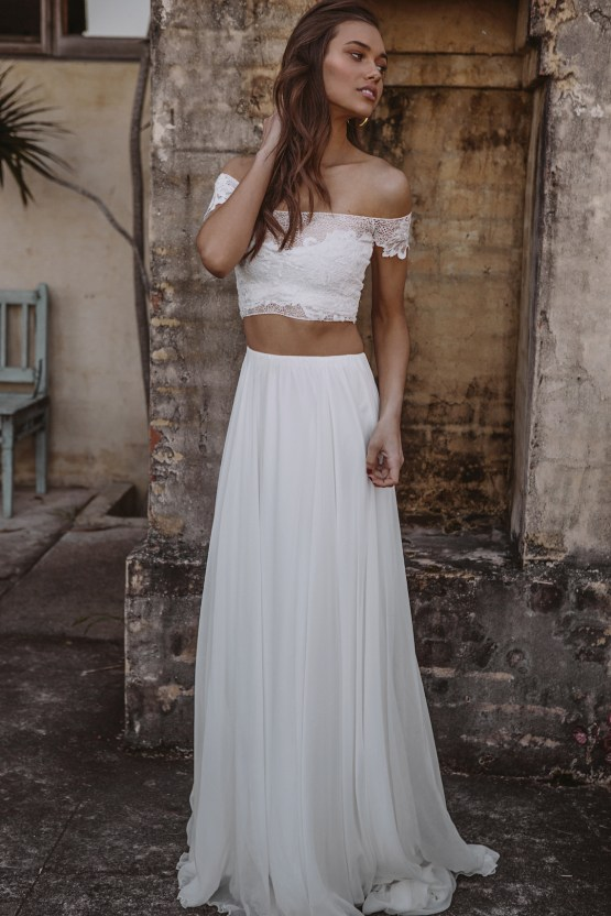 Hey Rebellious Brides, Grace Loves Lace Released A New Collection Just For You! | Valeria Gown 1