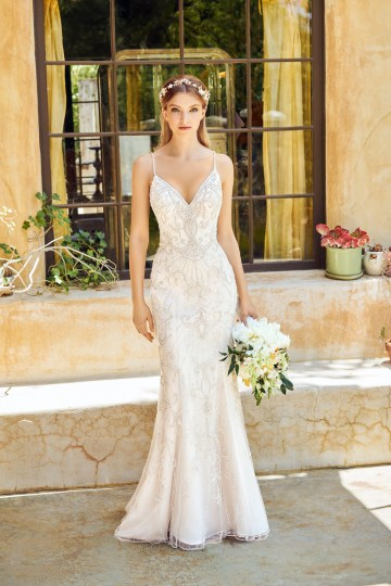 How To Choose The Right Wedding Dress For Your Body Shape | Val Stefani Moonlight Bridal 22