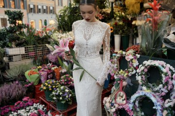 The Glamourous & Luxurious Ever After Wedding Dress Collection By Birenzweig 20