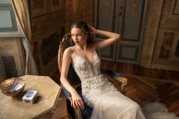 The Glamourous & Luxurious Ever After Wedding Dress Collection By Birenzweig 30