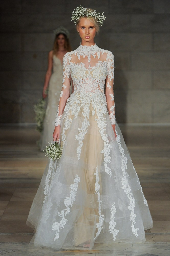 e31b3a9680 Stunning wedding dress trends everyone's talking about for 2018