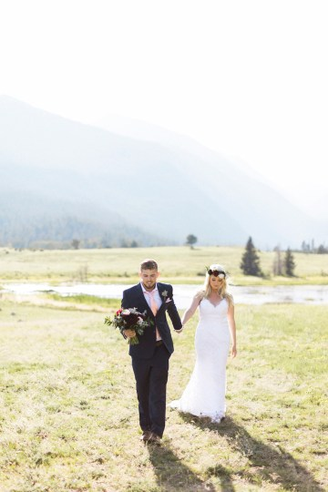 A Scenic Rocky Mountain Elopement | Sarah Porter Photography 43