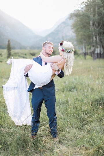 A Scenic Rocky Mountain Elopement | Sarah Porter Photography 59