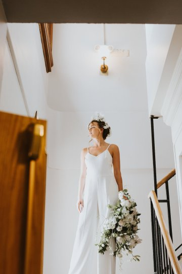 Cool Courthouse Wedding Inspiration Featuring A Bridal Jumpsuit | Rachel Birkhofer Photography 13