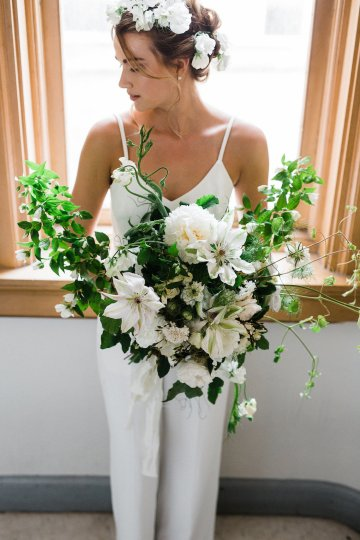 Cool Courthouse Wedding Inspiration Featuring A Bridal Jumpsuit | Rachel Birkhofer Photography 26