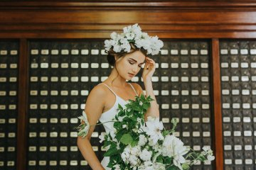 Cool Courthouse Wedding Inspiration Featuring A Bridal Jumpsuit | Rachel Birkhofer Photography 33