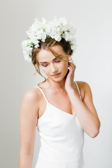 Cool Courthouse Wedding Inspiration Featuring A Bridal Jumpsuit | Rachel Birkhofer Photography 4