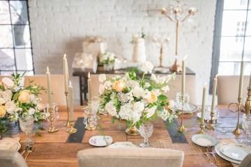 Gorgeous Buttercream & Ivory Wedding Inspiration | Anna + Mateo 45