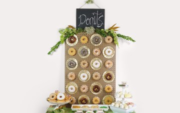 How To Make Your Own Trendy DIY Donut Wall | Shari's Berries 13
