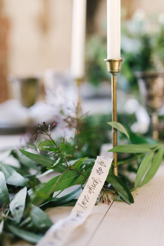 Luxurious Green & Gold Wedding Inspiration | Saje Photography 27