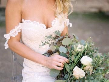 Luxurious Green & Gold Wedding Inspiration | Saje Photography 46