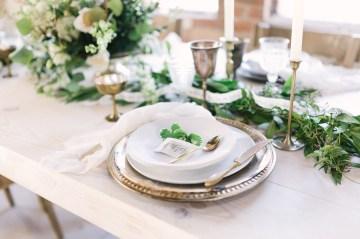 Luxurious Green & Gold Wedding Inspiration | Saje Photography 48