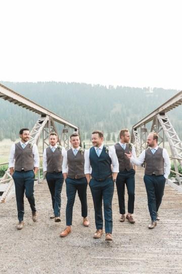Rustic Montana Ranch Wedding | Emily Blumberg Photography 44