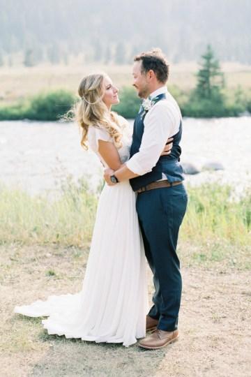 Rustic Montana Ranch Wedding | Emily Blumberg Photography 47