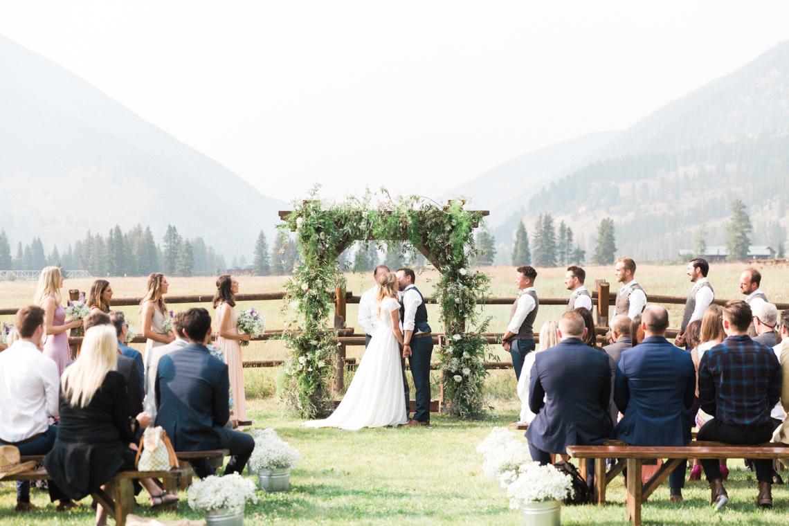 Rustic Montana Ranch Wedding | Emily Blumberg Photography 8