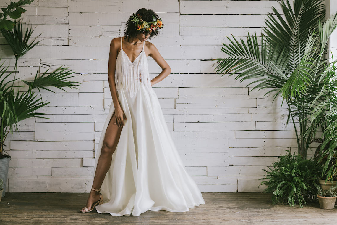 Boho Gowns & Cool Bridal Separates From The Tropical Town of Brooklyn   Loulette Bride 11