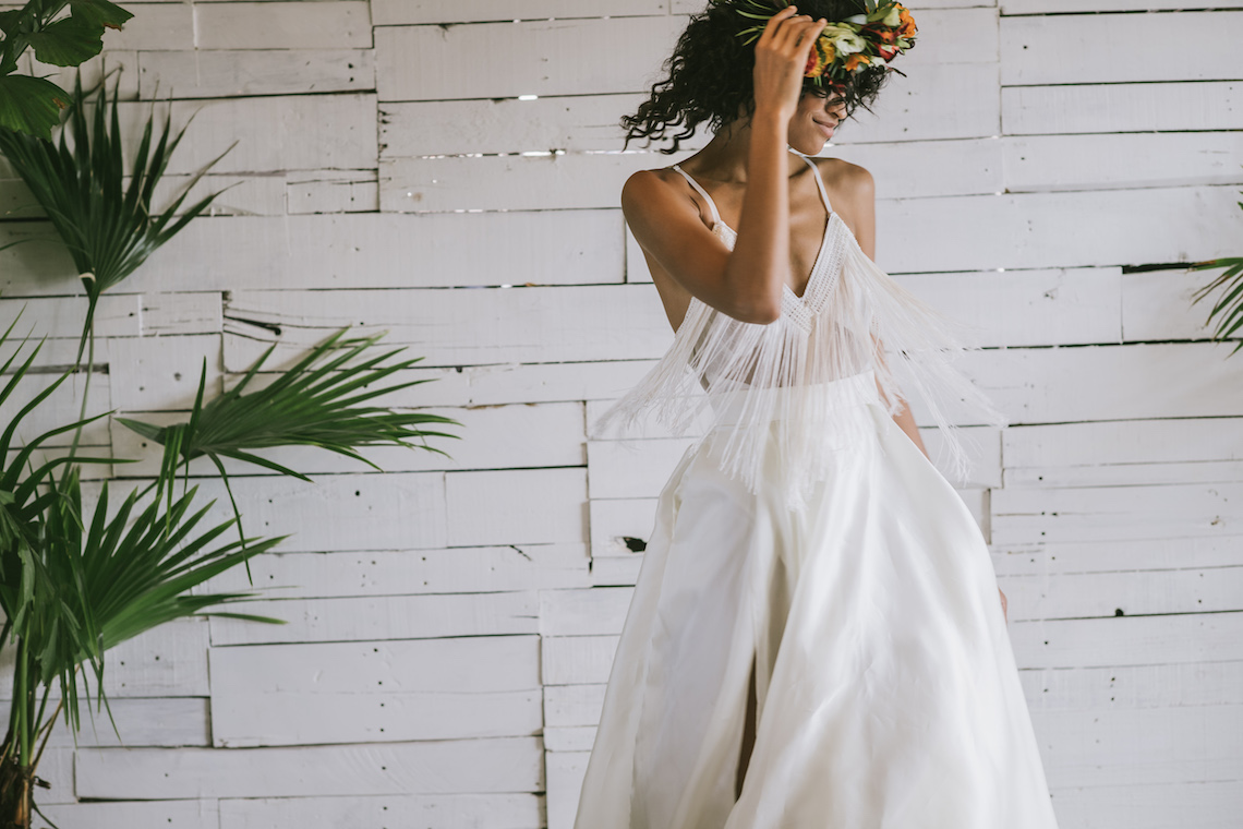 Boho Gowns & Cool Bridal Separates From The Tropical Town of Brooklyn   Loulette Bride 12
