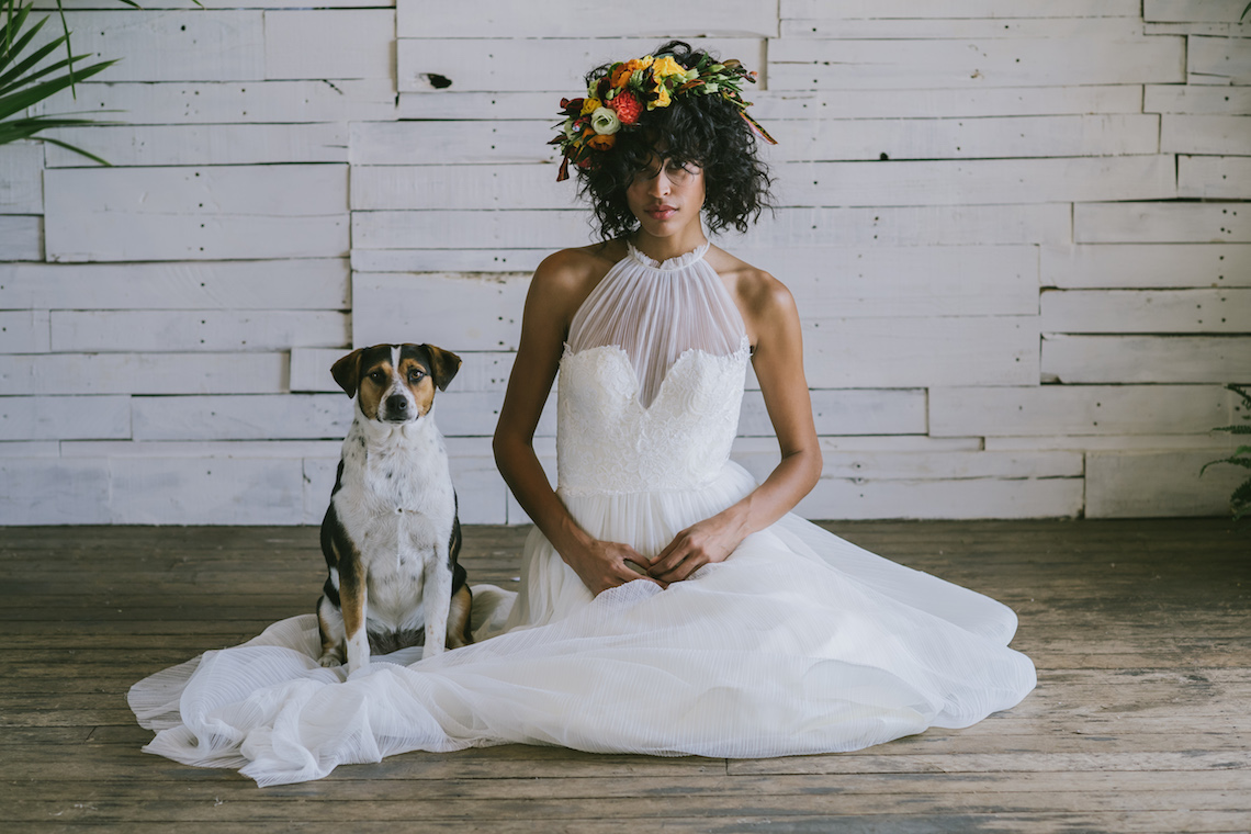 Boho Gowns & Cool Bridal Separates From The Tropical Town of Brooklyn   Loulette Bride 2