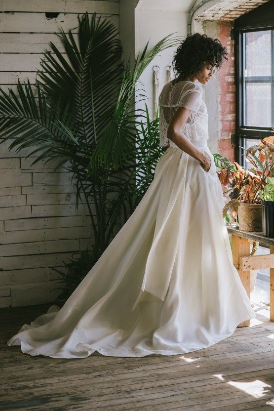 Boho Gowns & Cool Bridal Separates From The Tropical Town of Brooklyn   Loulette Bride 24