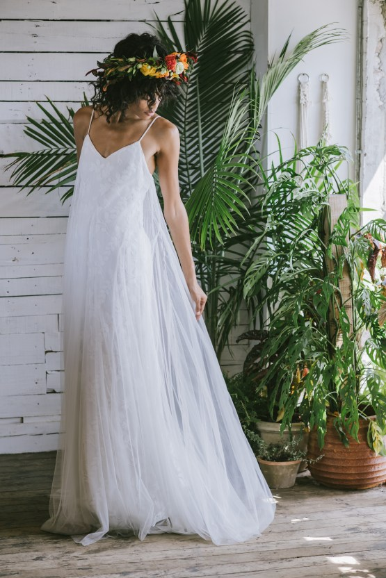 Boho Gowns & Cool Bridal Separates From The Tropical Town of Brooklyn   Loulette Bride 33