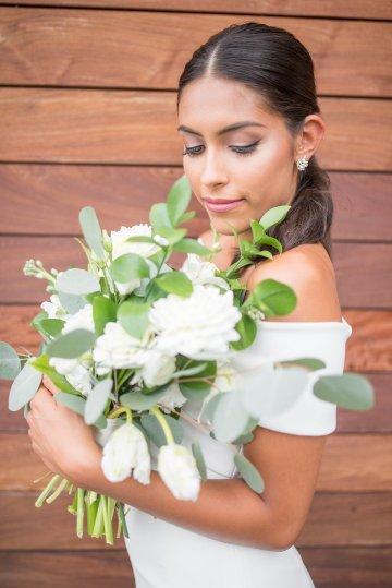 Classy Modern Rooftop Wedding Inspiration | Anna + Mateo Photography 46