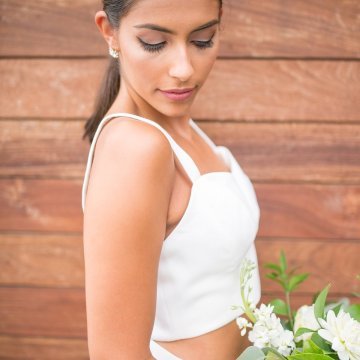 Classy Modern Rooftop Wedding Inspiration | Anna + Mateo Photography 49