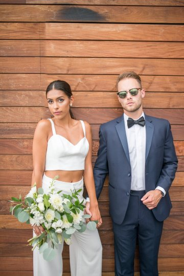 Classy Modern Rooftop Wedding Inspiration | Anna + Mateo Photography 52