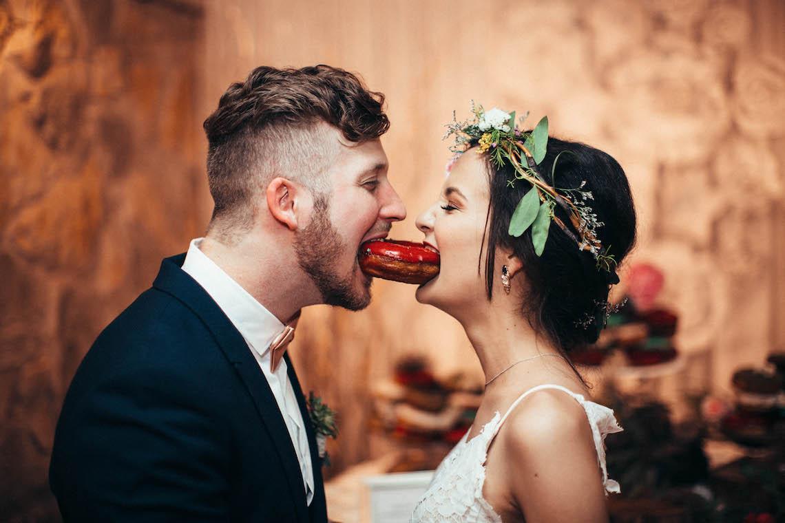Colorful, Natural Boho Wedding (With Donuts!) | Morgan Brooks Photography 19