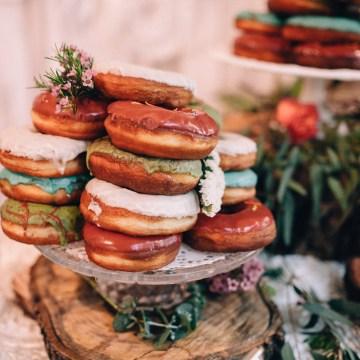 Colorful, Natural Boho Wedding (With Donuts!) | Morgan Brooks Photography 2