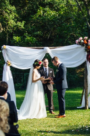 Colorful, Natural Boho Wedding (With Donuts!) | Morgan Brooks Photography 31