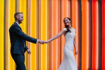 Cool, Modern London Wedding   Oliver McGivern Photography 16