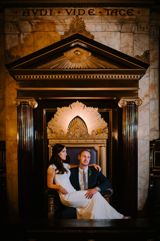 Cool, Modern London Wedding | Oliver McGivern Photography 34