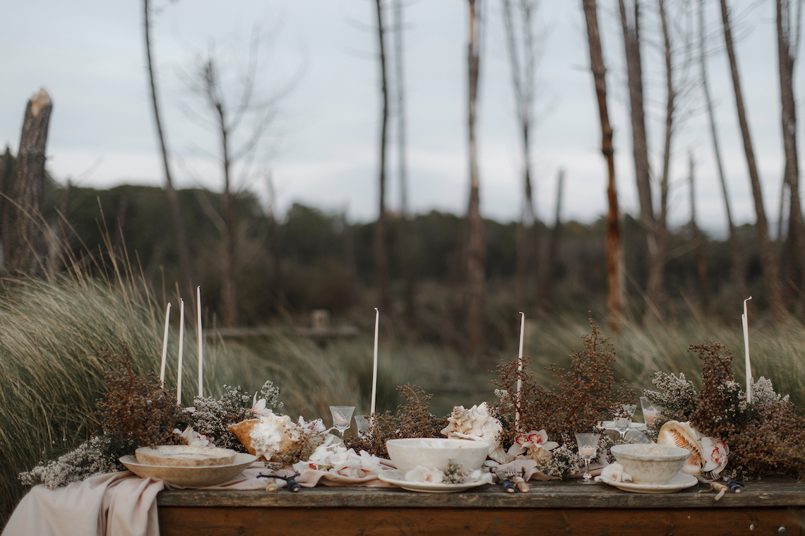 Driftwood & Seagrass, Seaside Boho Wedding Inspiration | Monica Leggio 2