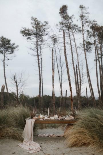 Driftwood & Seagrass, Seaside Boho Wedding Inspiration | Monica Leggio 22