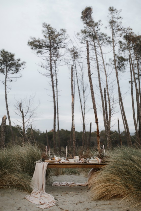 Driftwood & Seagrass, Seaside Boho Wedding Inspiration | Monica Leggio 22
