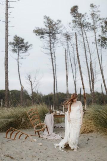 Driftwood & Seagrass, Seaside Boho Wedding Inspiration | Monica Leggio 25