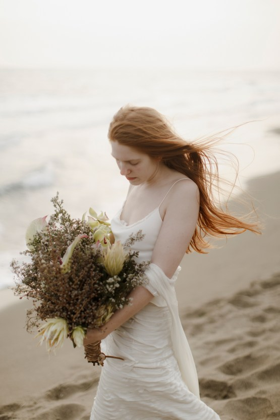 Driftwood & Seagrass, Seaside Boho Wedding Inspiration | Monica Leggio 35