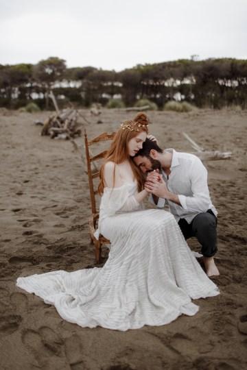Driftwood & Seagrass, Seaside Boho Wedding Inspiration | Monica Leggio 42