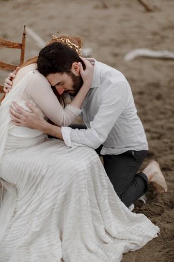 Driftwood & Seagrass, Seaside Boho Wedding Inspiration | Monica Leggio 43
