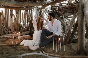 Driftwood & Seagrass, Seaside Boho Wedding Inspiration | Monica Leggio 7